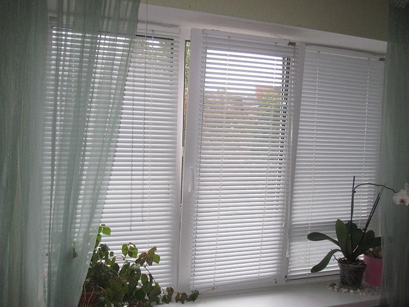 Фото жалюзи на окнах